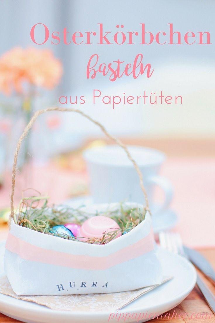 Anzeige) DIY Osterkörbchen mit eos Lip Balms | eos Lip Balm, EOS and ...
