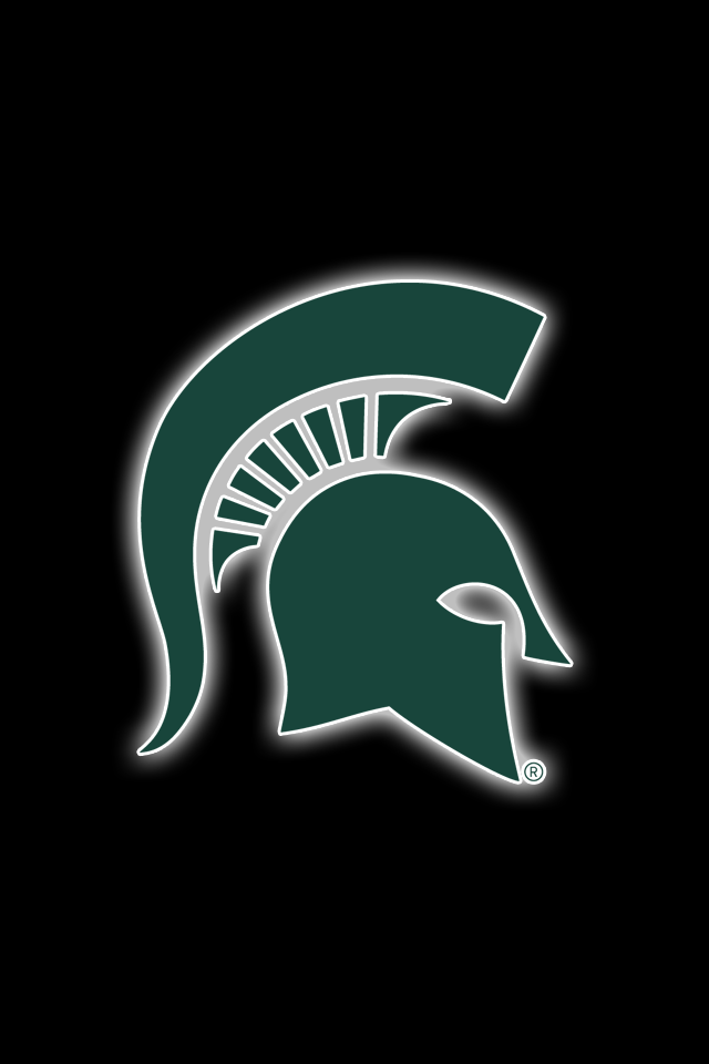Get A Set Of 12 Officially Ncaa Licensed Michigan State Spartans Iphone Wallpapers Si Michigan State Spartans Football Michigan State Western Michigan Football