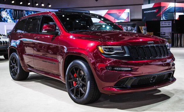 Dream Car Jeep Grand Cherokee Srt Maroon