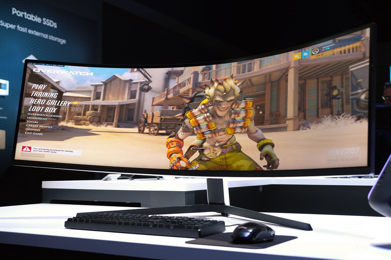 Samsung's Odyssey G9 is the most extreme ultrawide gaming