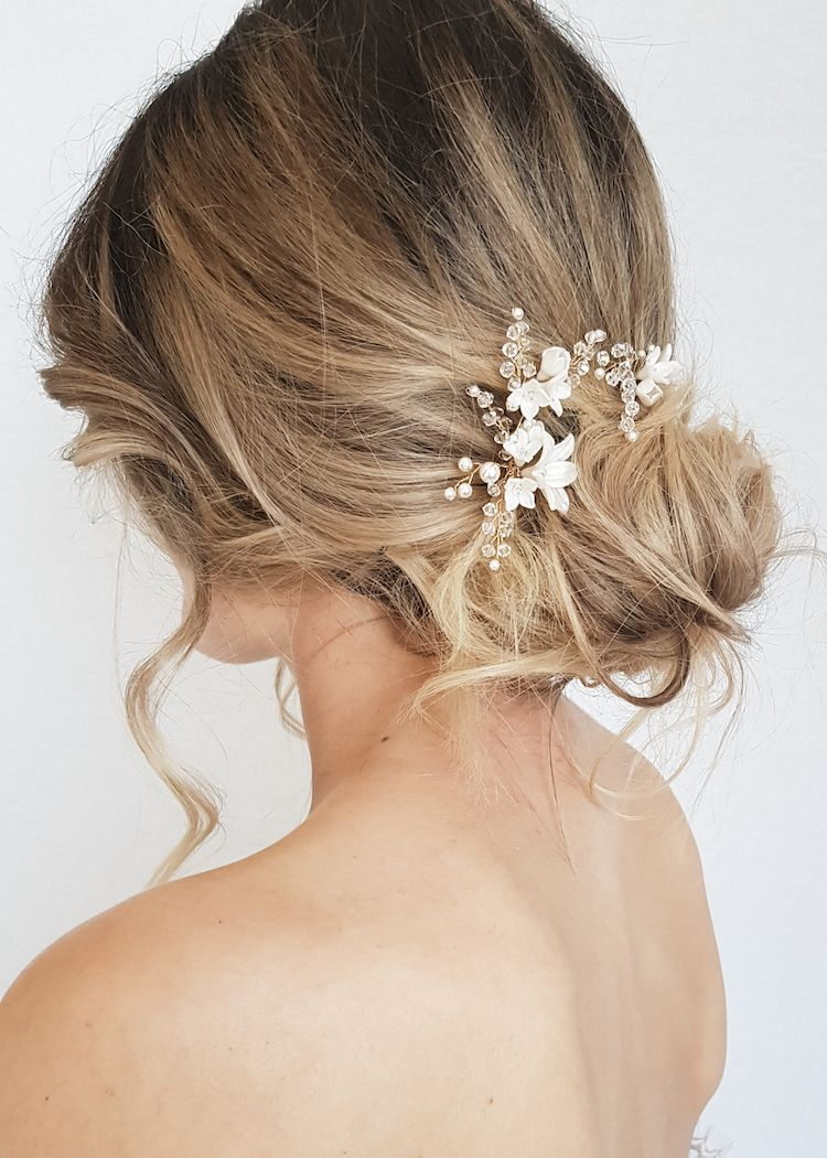 BRIARROSE Floral Bridal Hair Pins in Wedding ideas