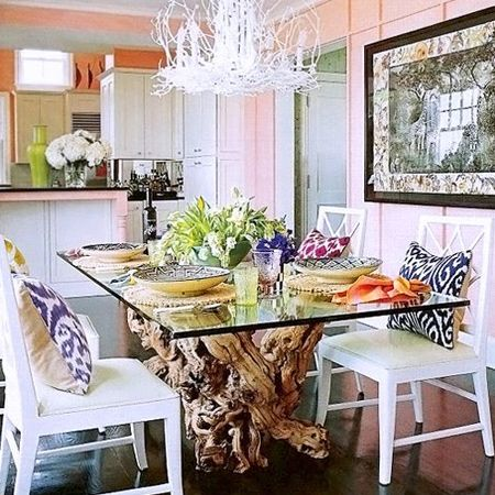 Home Dzine Home Decor Use Felled Tree Stumps For Dining