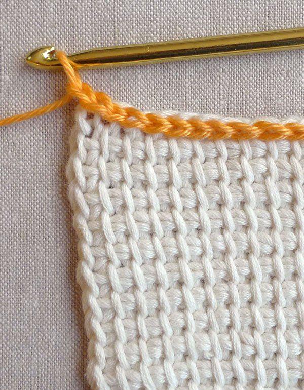 Tunisian Crochet Washcloths   Pinterest