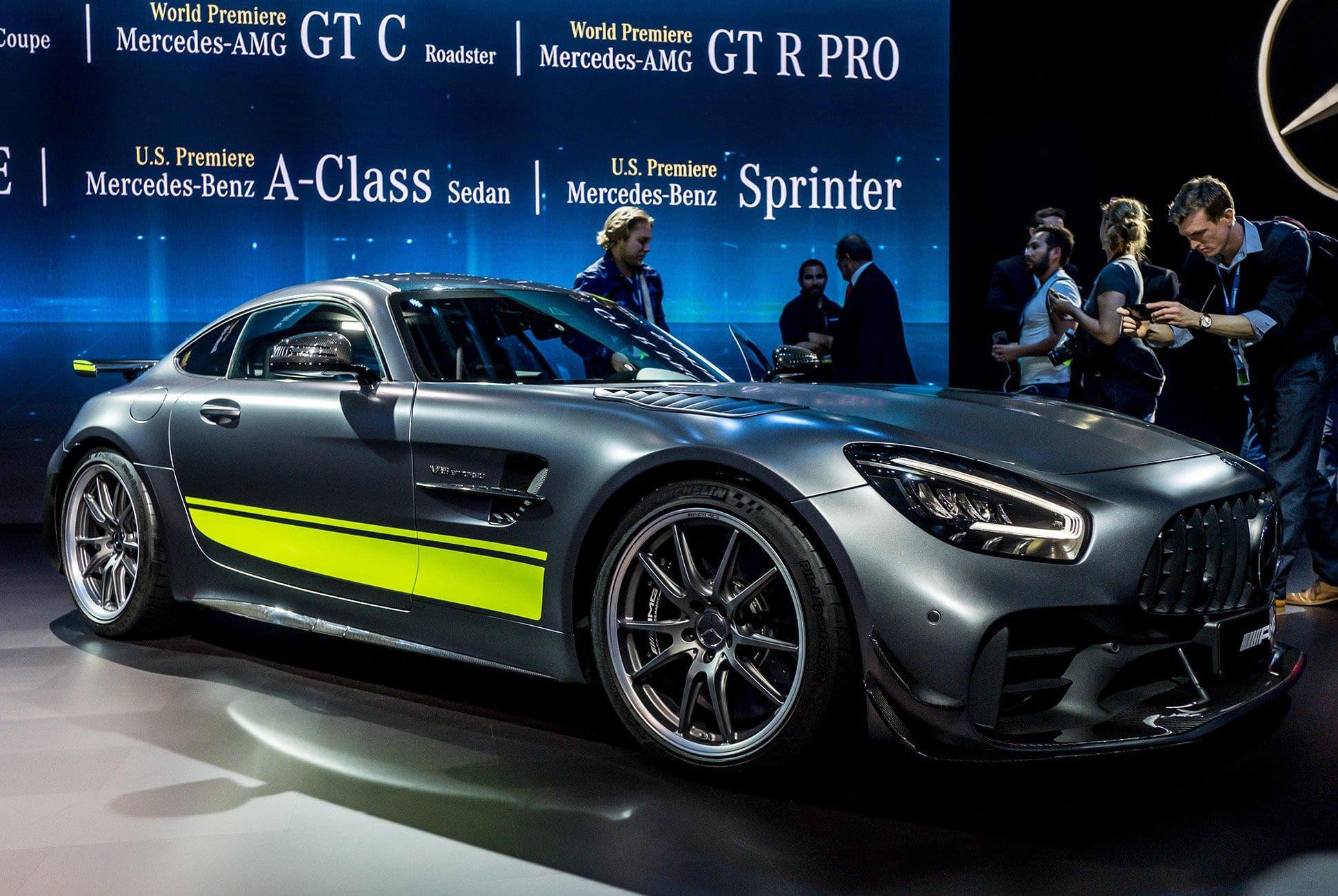 Top 10 La Auto Show Cars Gear Patrol Amg Gtr Pro Slide 1