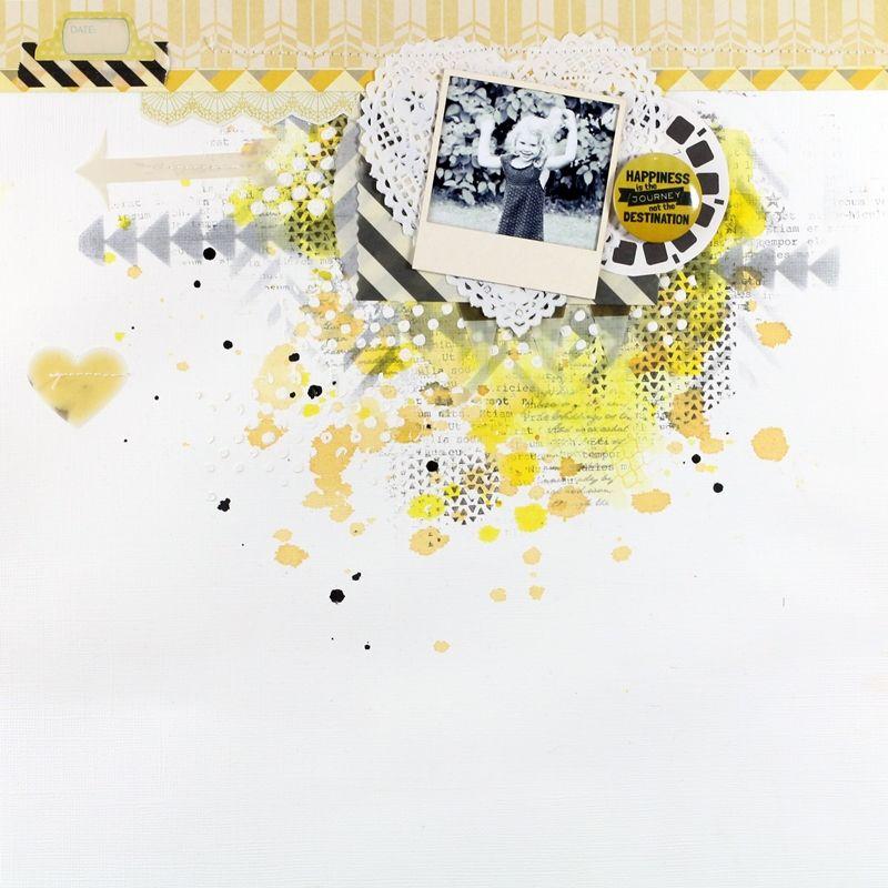Christin aka Umenorskan scrapper: Happiness... #cratepaper #fancypantsdesign #thecraftersworkshop #kaisercraft stamps