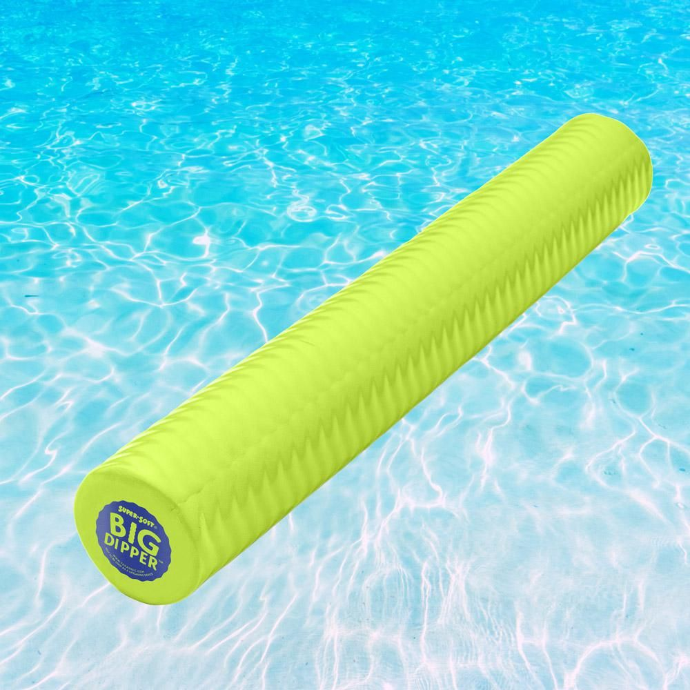 Texas Recreation Super Soft Lime Big Dipper Pool Toy 8614139 The Home Depot Pool Toys Inflatable Pool Floats Pool