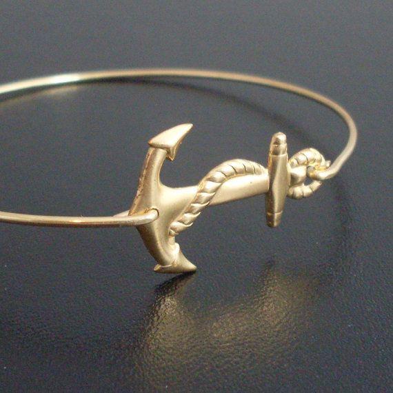 Nautical Anchor Charm Bracelet /& Earrings Summer Nautical Jewelry for Women