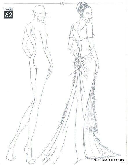 ilustración de moda illuastration in 2018 fashion sketches