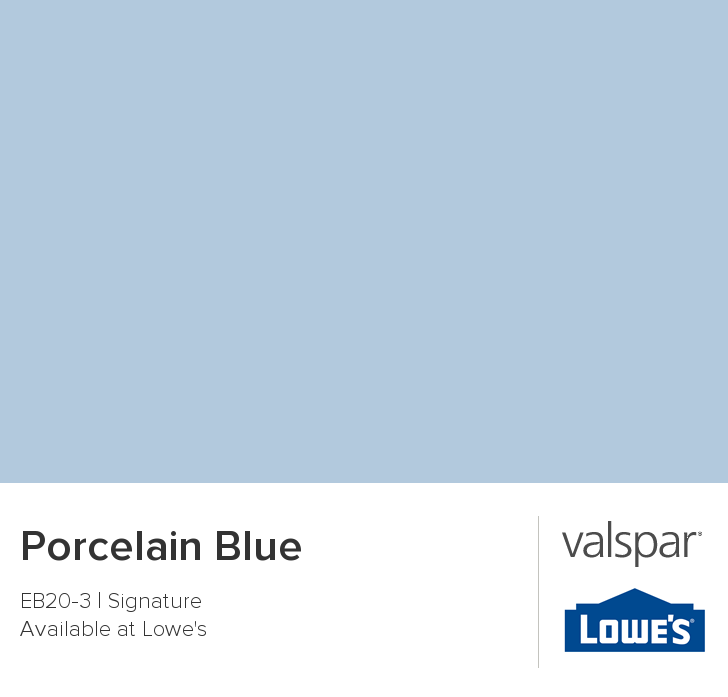 Valspar Paint Color Chip Porcelain Blue Valspar Paint Colors Valspar Paint Valspar Paint Colors Blue