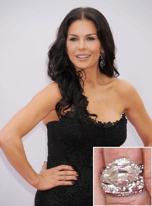 Catherine Zeta Jones 1million Catherine S Engagement Ring Is A
