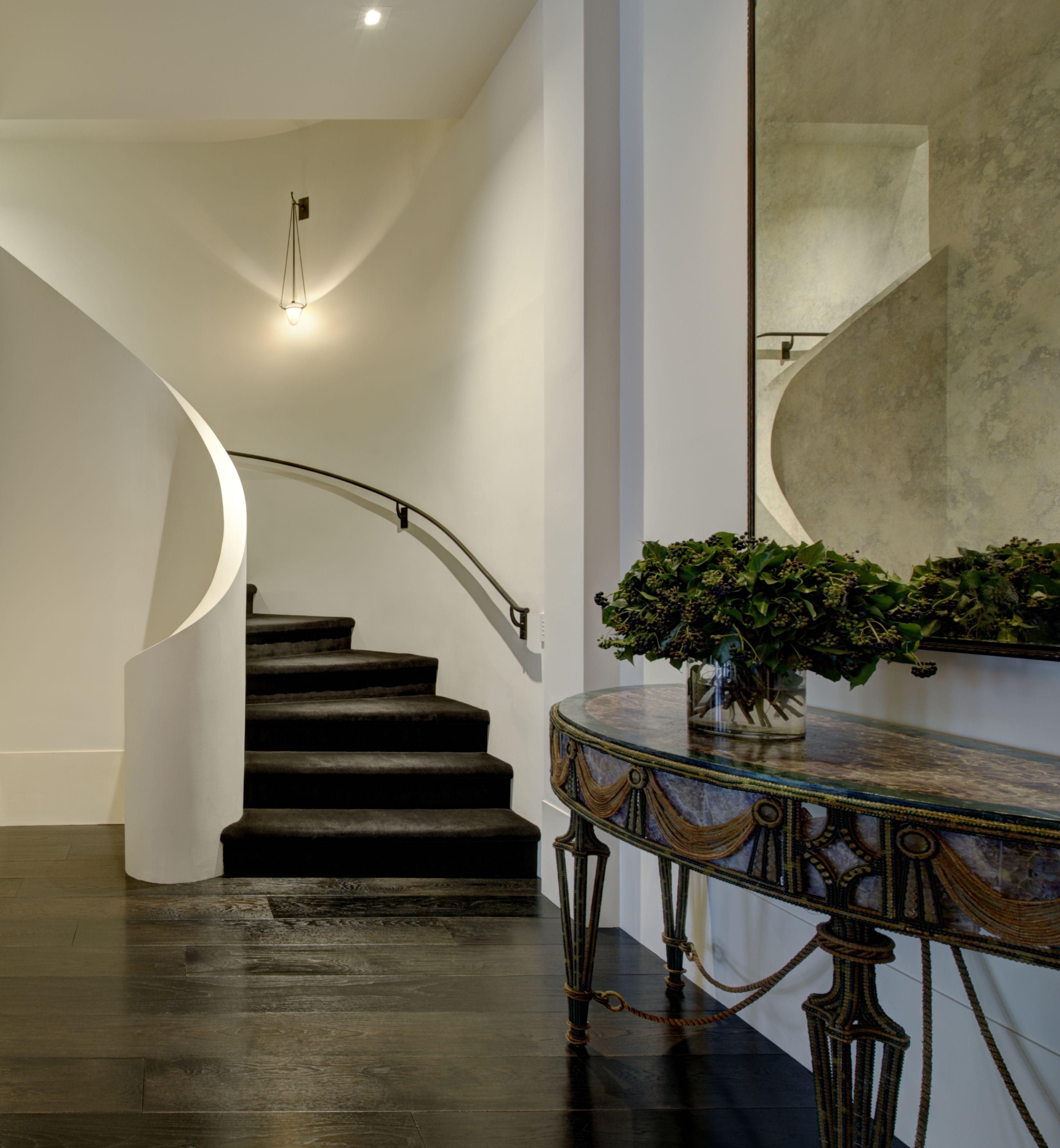 Minimalist Staircase. Soho Duplex Penthouse, New York ...