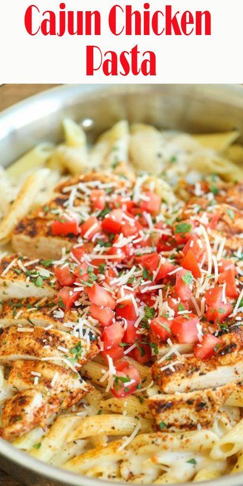 Cajun Chicken Pasta - Heiß aus meinem Ofen   - Food & Drink that I love    #aus #Cajun #Chicken #Drink #Food #Heiß #love #meinem #Ofen #Pasta #cajundishes