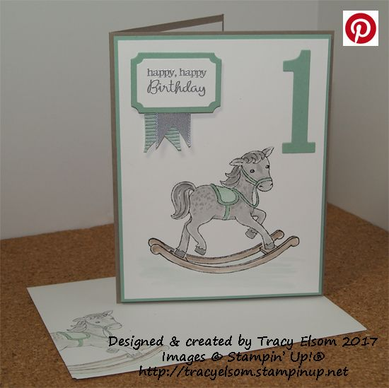 Sweet 1st birthday card created using the little cuties stamp set sweet 1st birthday card created using the little cuties stamp set from the stampin up bookmarktalkfo Images