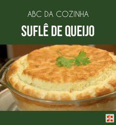A chef Gabriela Pegurier mostrou no ABC da Cozinha que é possível fazer um suflê de queijo perfeito com facilidade!
