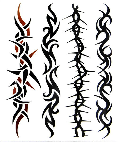 Arm Bracelet Tattoos For Men Arm Band Airbrush Tattoo For
