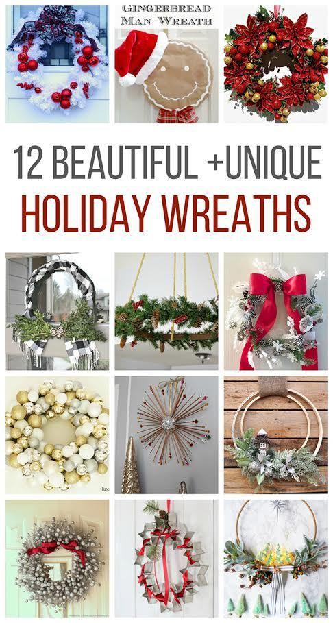 12 Days of Christmas Blog Hop-Day 12 Christmas Wreaths Wreaths