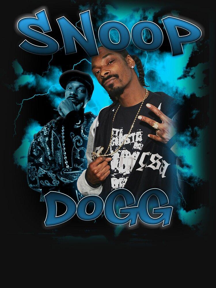 Snoop T Shirts In 2021 Vintage Rap Tees Graphic Tshirt Design Hip Hop Art