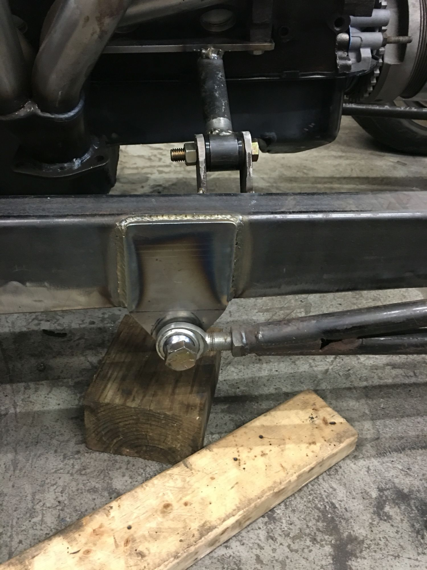 Motor Mount And Front Suspension Jeep Rat Rod Hot Rods