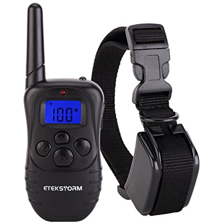 Etekcollar dog shock collar 330yds remote dog training