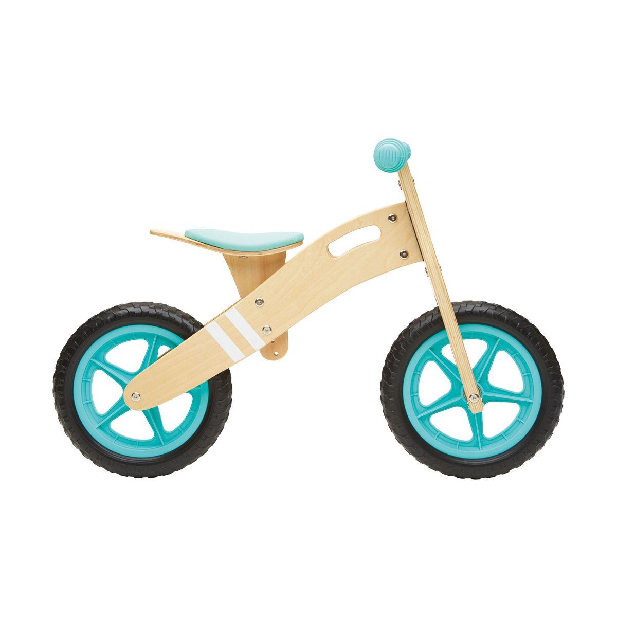 28cm Wooden Balance Bike Kmart Kids Mountain Bikes Outdoor