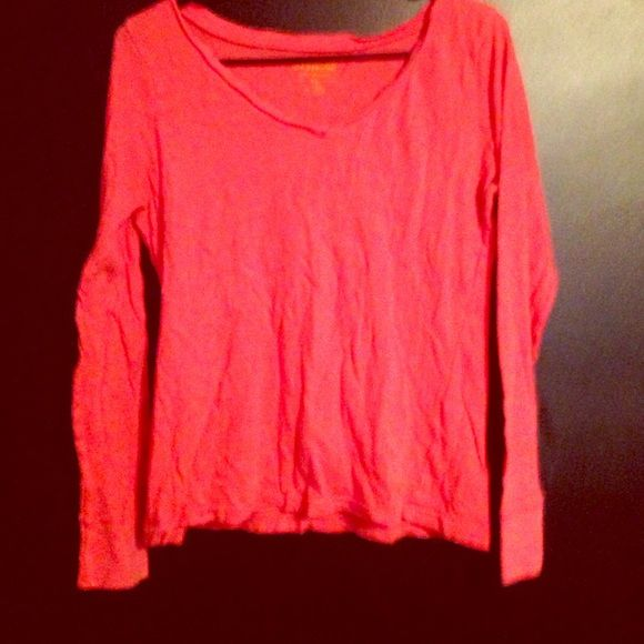 Aeropostale; Orange Long Sleeve Perfect condition Aeropostale Tops Tees - Long Sleeve