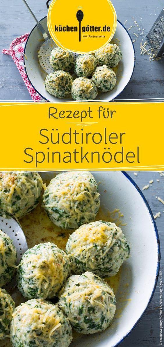 Südtiroler Spinatknödel #apfelrosenrezept
