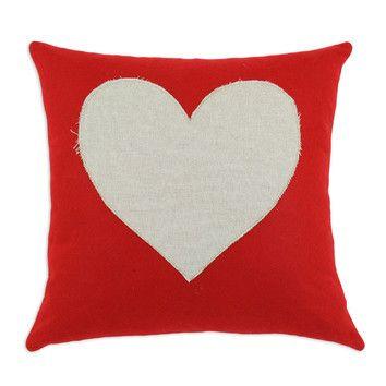 Chooty & Co Felt Cotton / Linen Blend Pillow