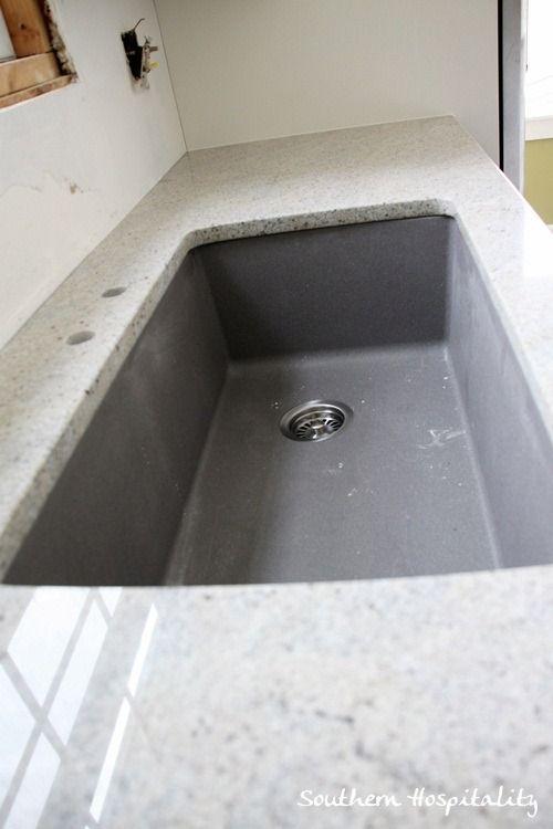 granite installation silgranit sink