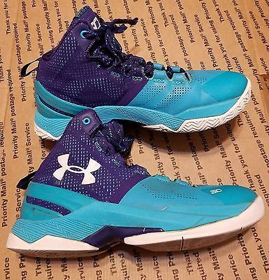 Under Armour Stephen Curry Boys Girls Kids Youth Sneakers Shoes Size ... 58502e374