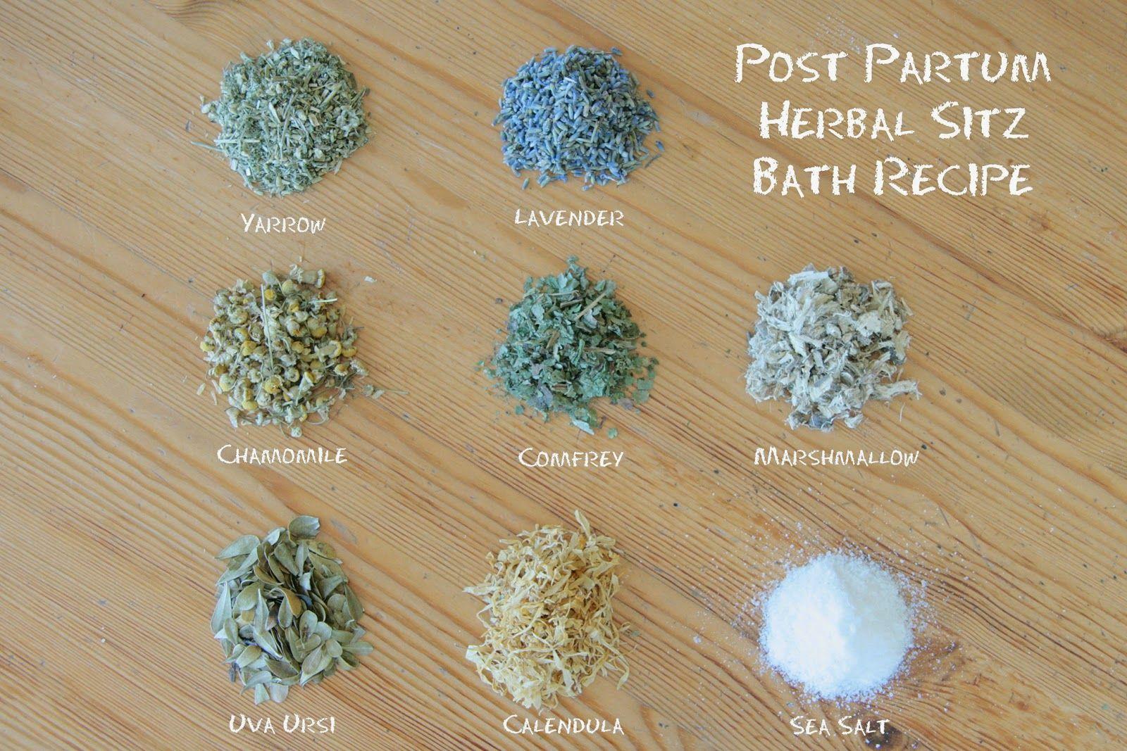 Andrea Deal Homeopathy Natural Recipe Post Partum