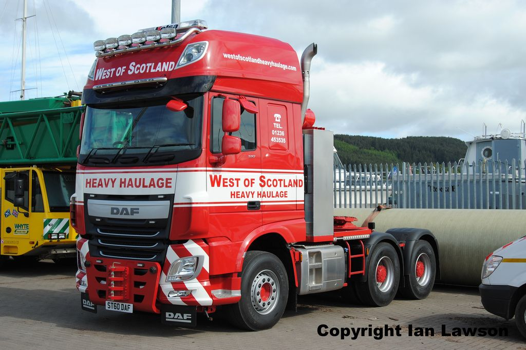 daf xf 106 ssc 510 6x4 west of scotland heavy haulage. Black Bedroom Furniture Sets. Home Design Ideas