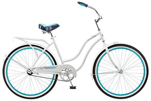 Schwinn Baywood Women\'s 16 Cruiser Bike, 21-Inch/Small, White ...