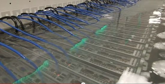 Green Data Centers Submerging Servers In Mineral Oil Mineral
