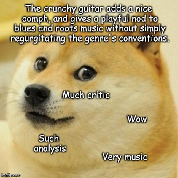 Pin by Darcia Helle on Music Quotes and Art | Doge meme, Funny memes, Memes