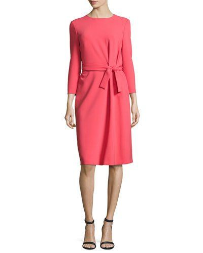 Melrose Flutter Sleeve Dress