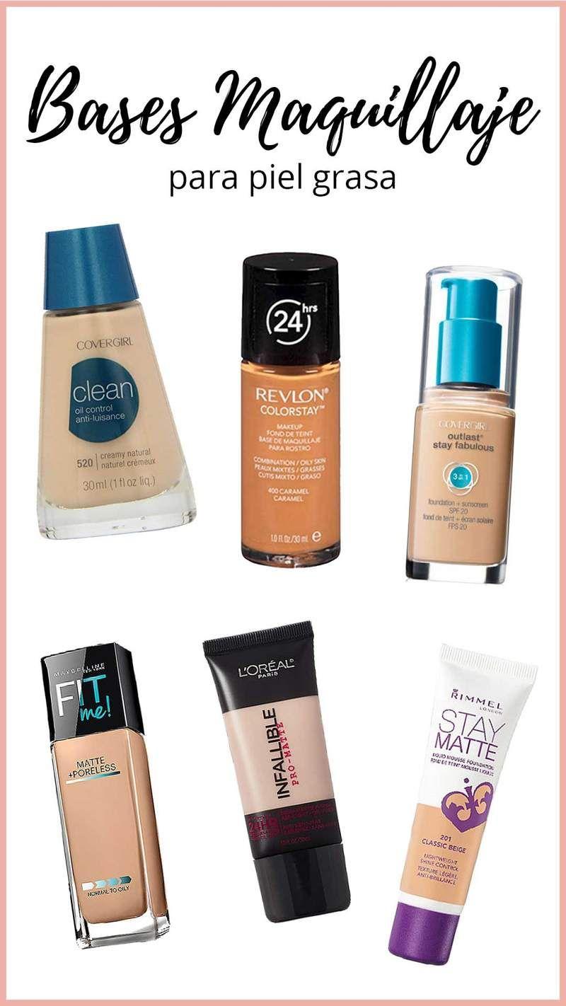 afdba6cc0 Si te preguntas qué maquillaje es bueno para la piel grasa, es porque  seguramente tu piel es grasosa y el maquillaje que aplicas en tu rostro no  favorece en ...