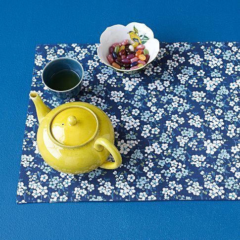 Sarah Campbell Floral Blooms Placemat Set From West Elm