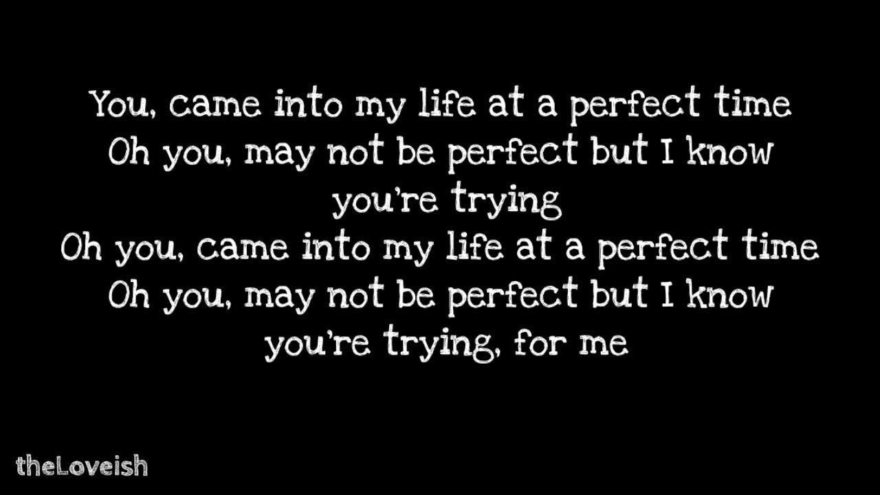 Toni Romiti Feat Russ Perfect Time Lyrics Youtube Lyrics
