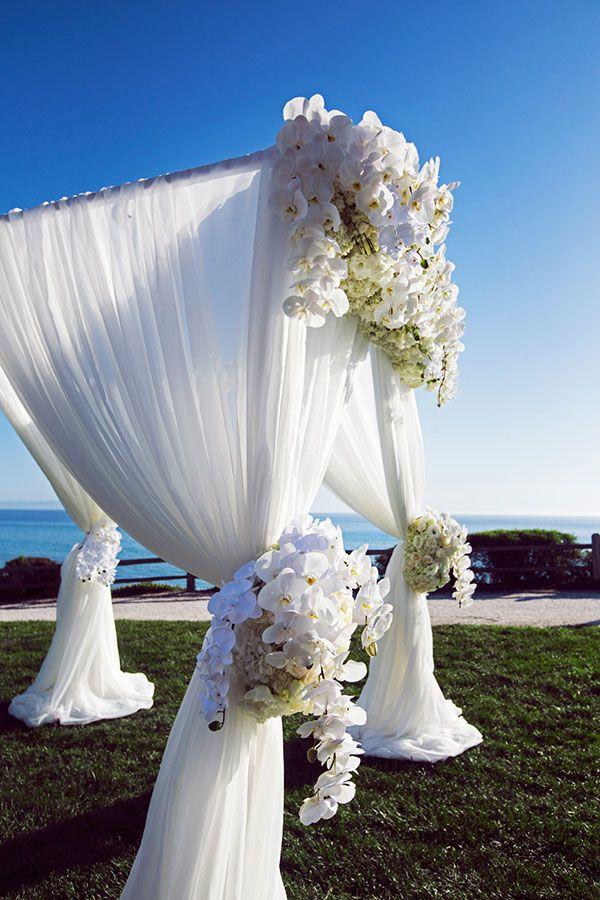 Elegant Outdoor Wedding in California | White wedding ...