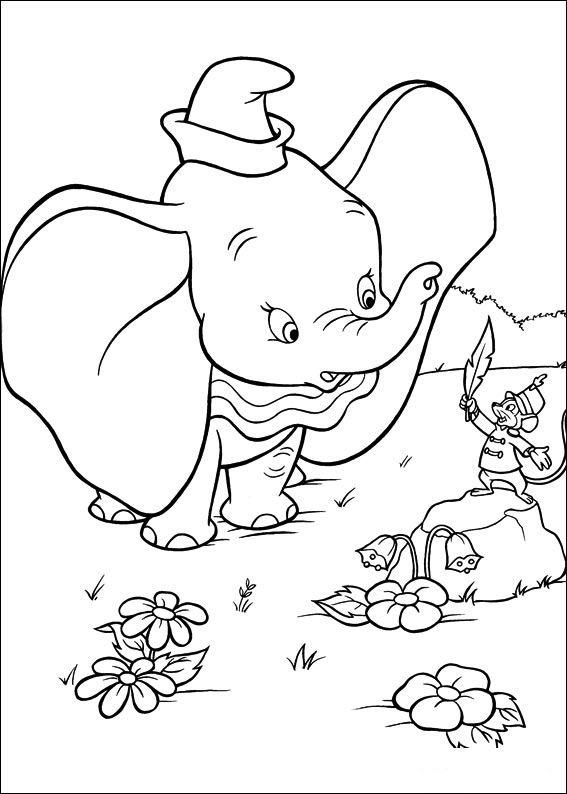 Dibujos Para Colorear Dumbo 1 Dibujo De Dumbo Dibujos Tumblr Para Colorear Colorear Para Ninos