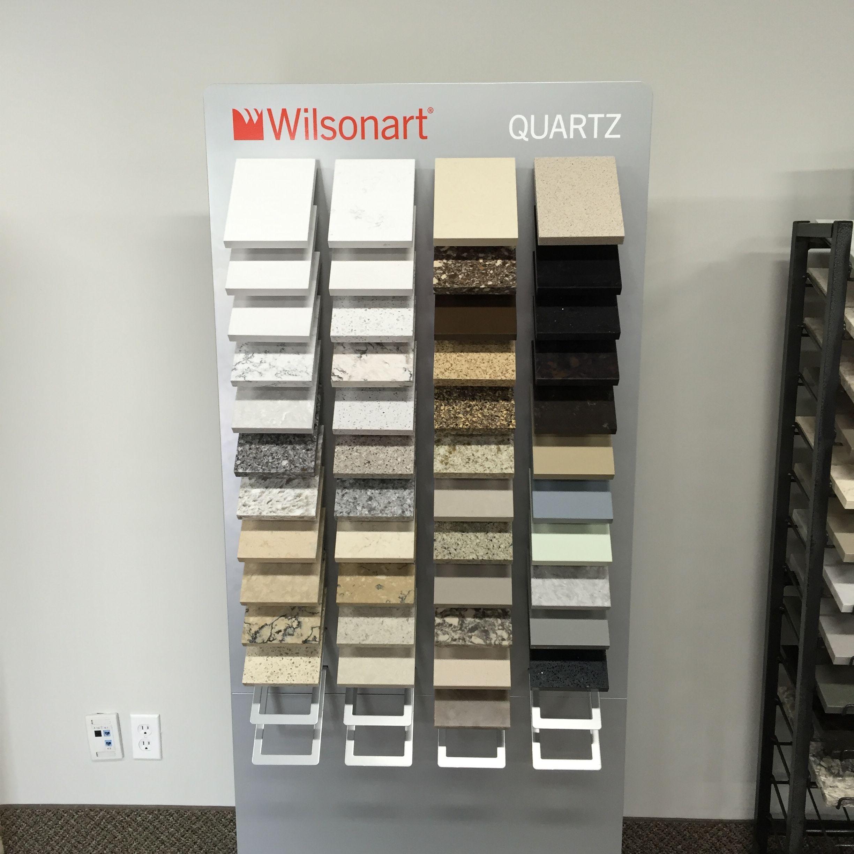 Wilsonart Quartz sample display board  #BrantfordGraniteAndQuartz