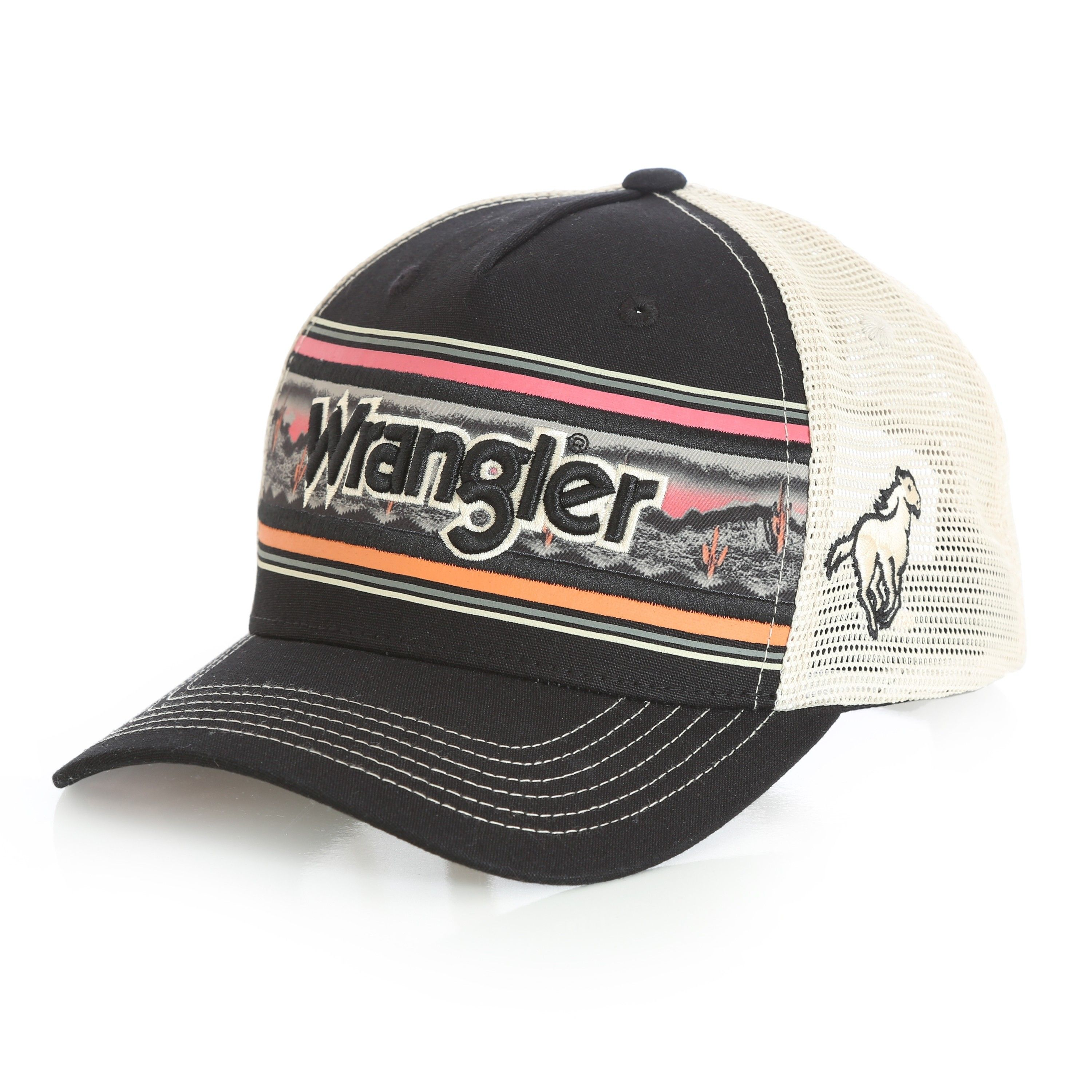 Wrangler Sunset Trucker ball cap style - MWC217M now available at Billy s  Western Wear! e82b04a5ae4