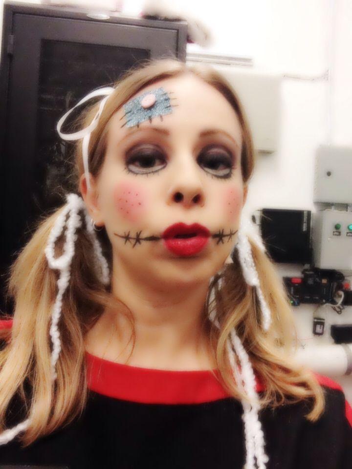 Ragdoll Makeup Halloween Face Makeup Makeup Halloween Face