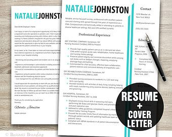 Resume Template  The Sydney  Modern Resume Design  Instant Ms