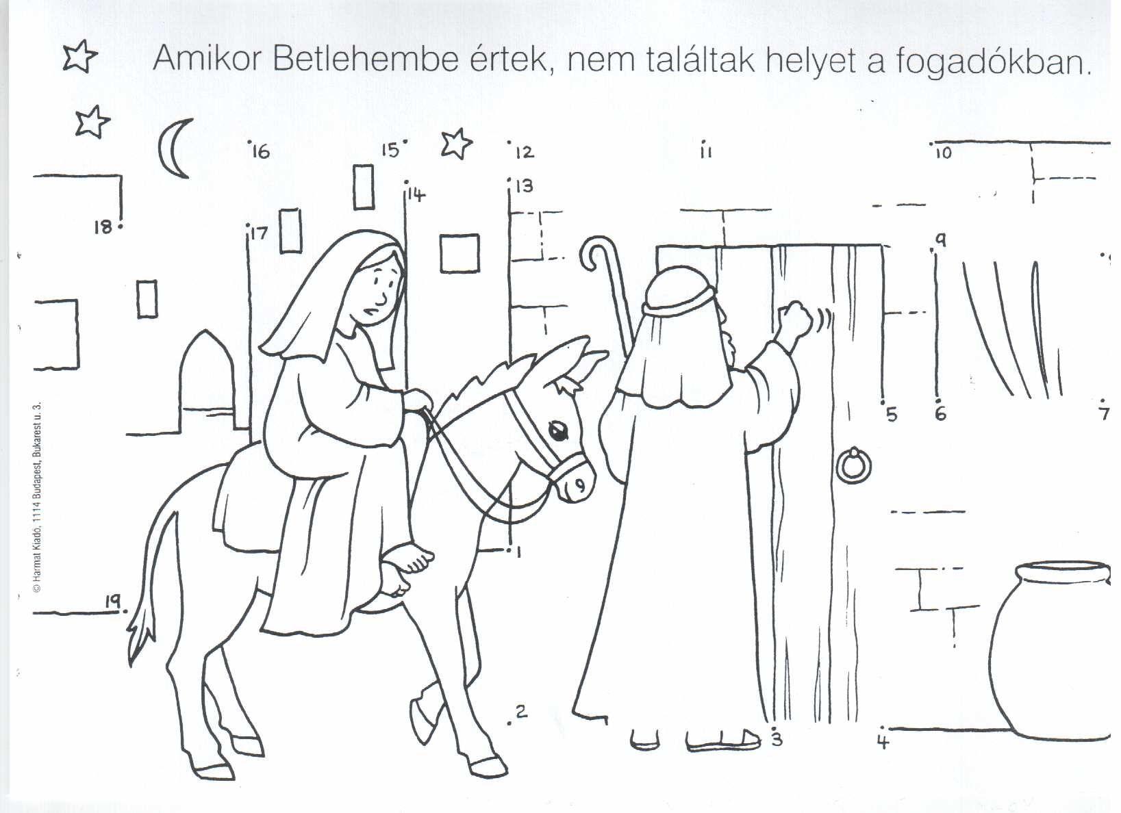 Jezus Szuletese 07 Jpg 1637 1188 Coloring Pages A Christmas Story Printable Image