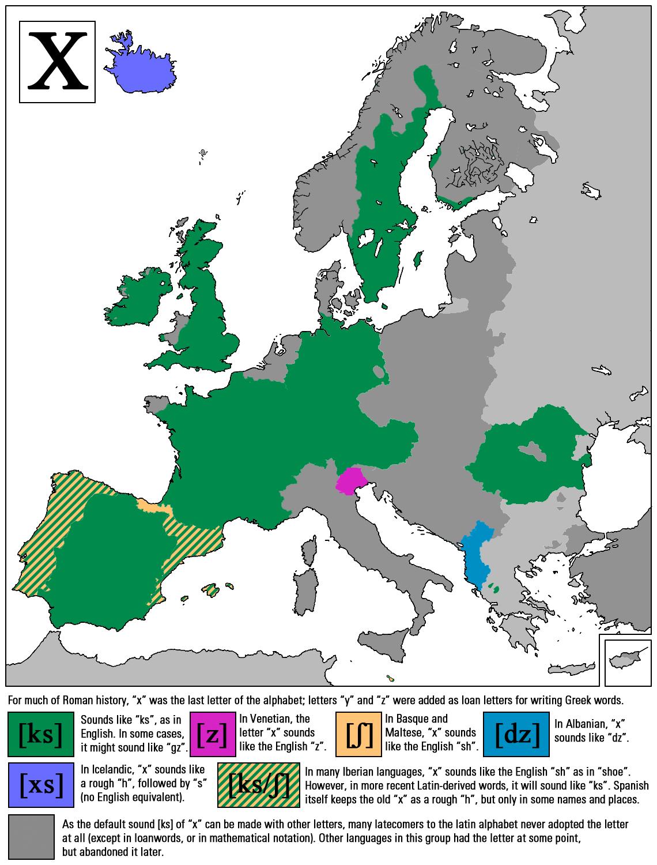 Consonants In European Languages Nyelv European Languages Space