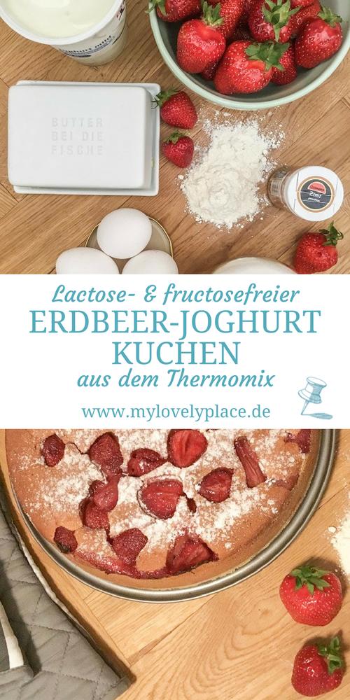 Lactosefreier Und Fructosefreier Saftiger Erdbeer Joghurt Kuchen Ist