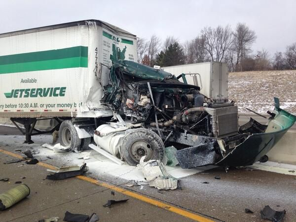 Semi Truck Accidents Google Search Trucks Big Trucks Big Rig