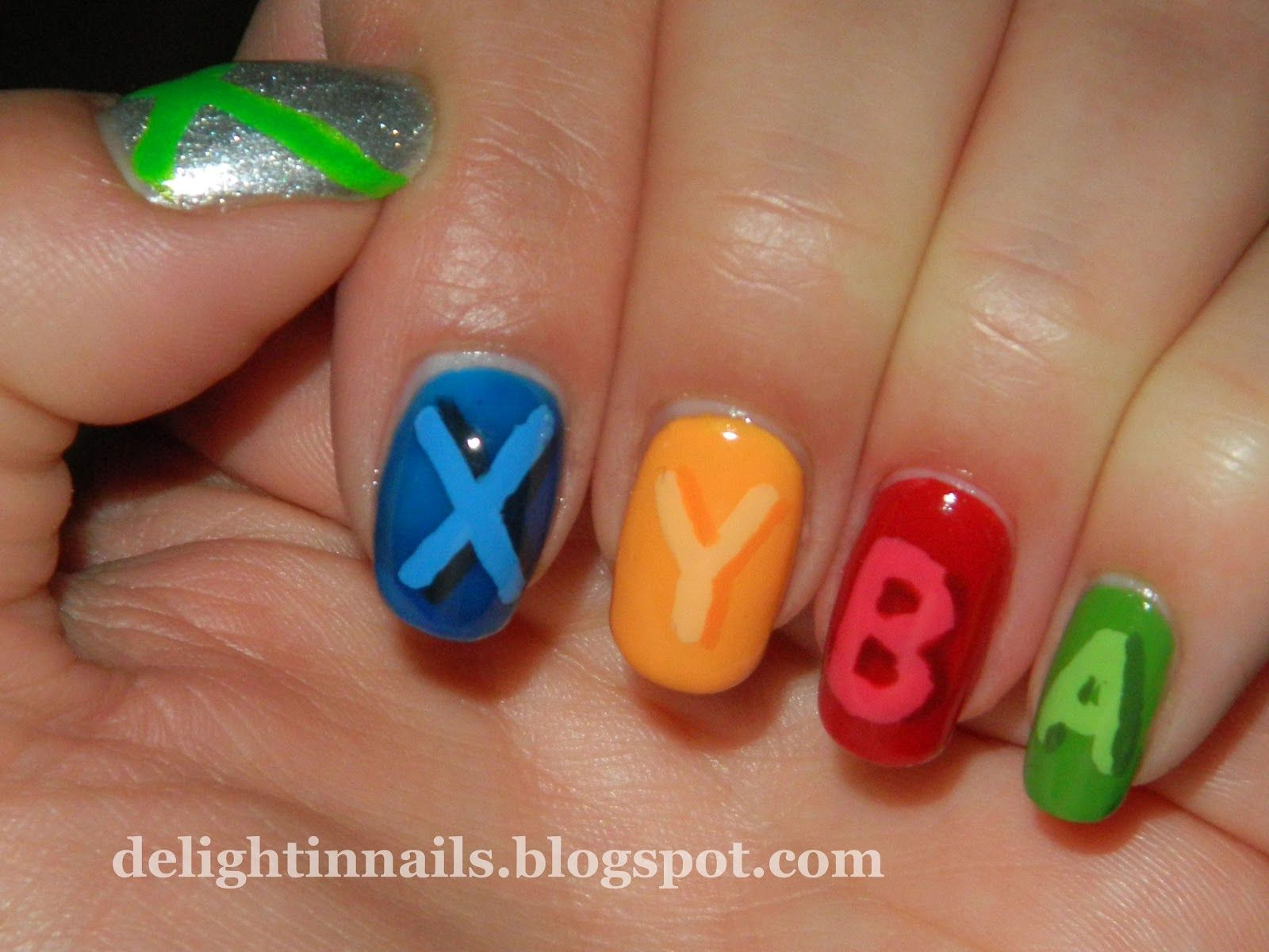 Delight in Nails: Geek Challenge Day 4: Ultimate Geek - Xbox ...