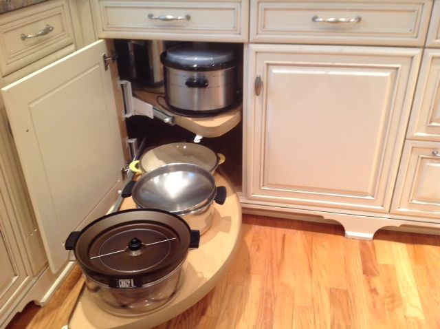 Pull Out Shelf For Corner Cabinets Is Perfect For Heavy Items Like Crock  Pots, Over